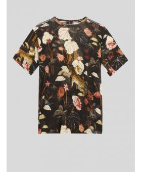 Tiger and Waterlily T-Shirt