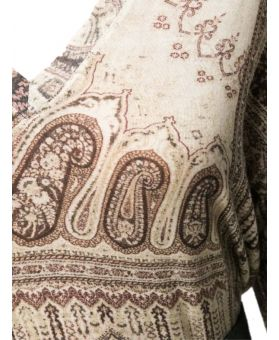 Paisley Embroidered Top