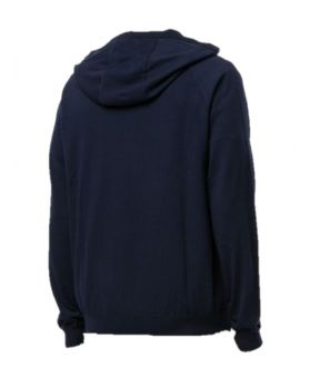 Zipped Cotton Hoodie