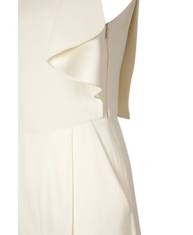 Draped Detail Jumpsuit