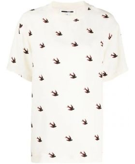 Swallow Print T-Shirt
