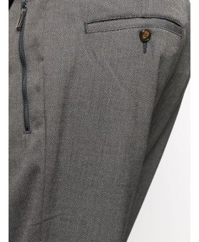 Cropped Slim Fit Chinos