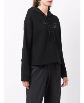 Woman Embroidered Logo Hoodie