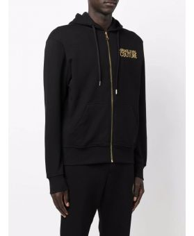 Man Embroidered Logo Hoodie