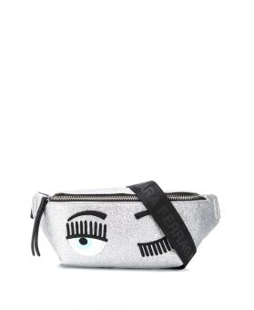 Flirting Glitter Belt Bag