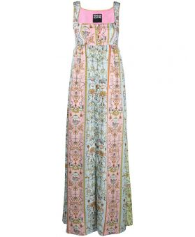 Tuileries Print Maxi Dress