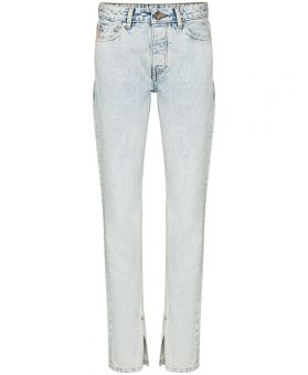 Mid-Rise Slim-Fit Jeans