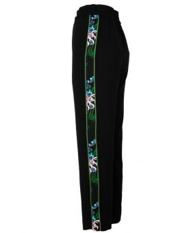 Side Floral Print Trouser