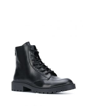Man Lace Up Boots