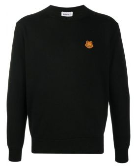 Tiger Patch Wool Jumper