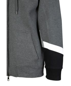 Panelled Sleeves Sweatshirt
