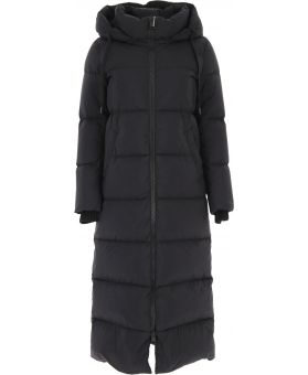 Woman Hooded Padded Coat