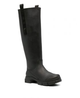 Woman Rubber Long Boots