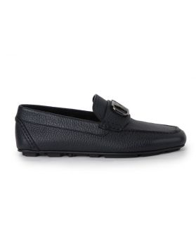 V Logo Loafers