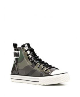 Camouflage High Top Sneakers