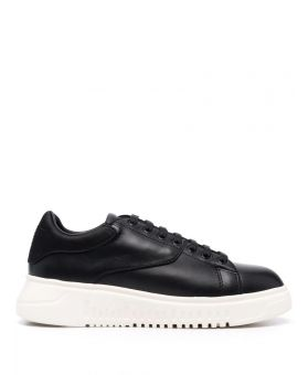 Woman Panelled Low Top Sneakers