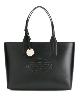 Large Logo Embossed Tote