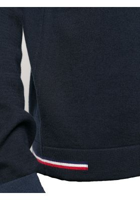 Tricolour Detail Sweater
