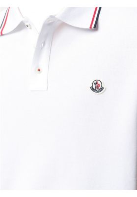 Polo Shirt with Striped Rele